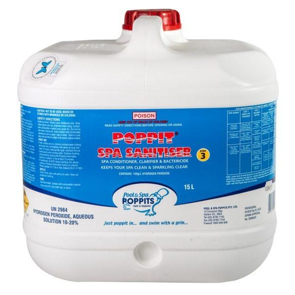 Poppits chlorine free spa chemicals